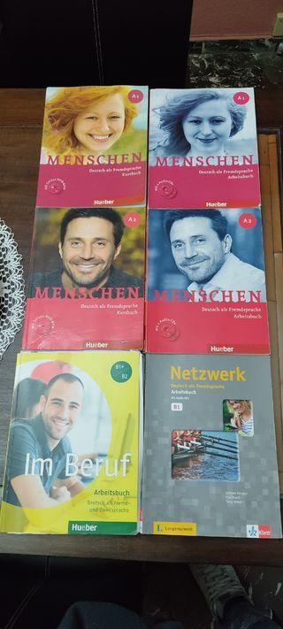 libros Hueber Alemán. perfecto para iniciarse
