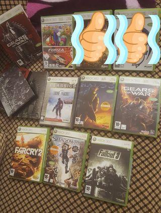 Juegos para Xbox 360 ( live ) ..