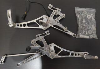 Estriberas RIZOMA Aluminio Ducati Monster