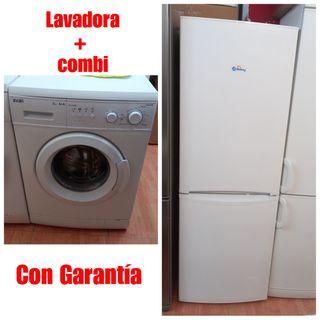 Lavadora+Combi con garantía