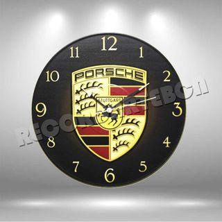Reloj de Disco LP de Porsche