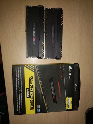 Memoria RAM 16gb corsair
