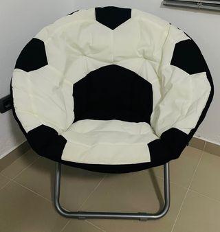 Sillón balón de fútbol