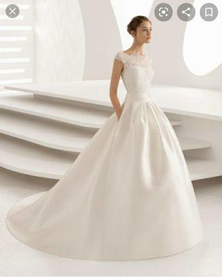Vestido nuevo de novia precioso Rosa Clara