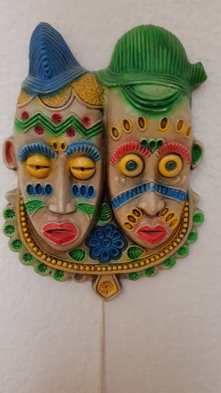Mascara cerámica de Huelva