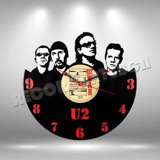 Reloj de Disco LP de U2