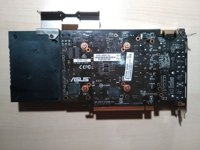 #Tarjeta gráfica#Asus#GeForce#Nvidia GTX950