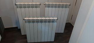 3 radiadores de agua