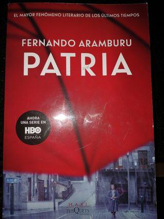 Vendo libro Patria