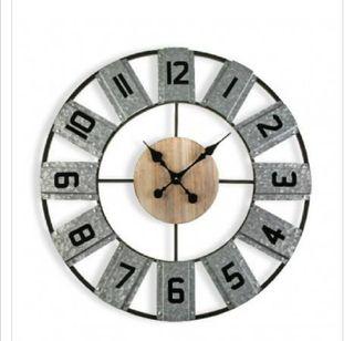 Reloj industrial 80cm