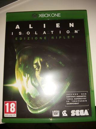 ALIEN INSOLATION XBOX ONE