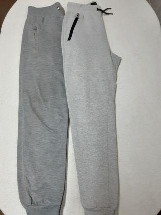 dos pantalones de chándal