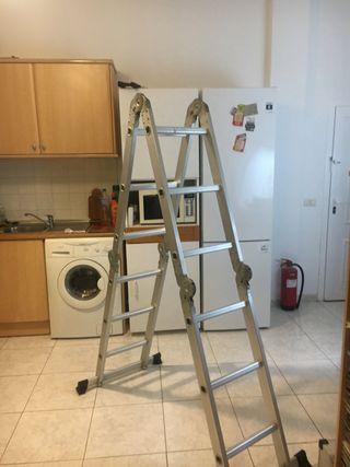 Escalera de aluminio plegable profesional