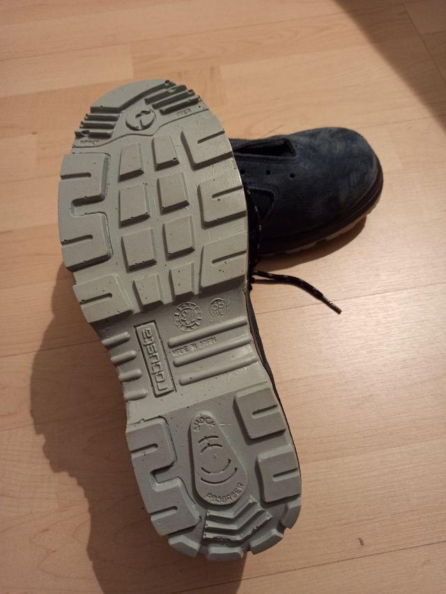 zapatos seguridad robusta