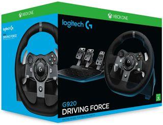 Volante y Palanca Logitech G920 Xbox Pc