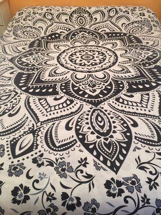 Colcha India Mandala 100% algodón