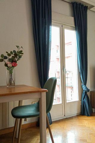 cortinas Hilja azul de ikea