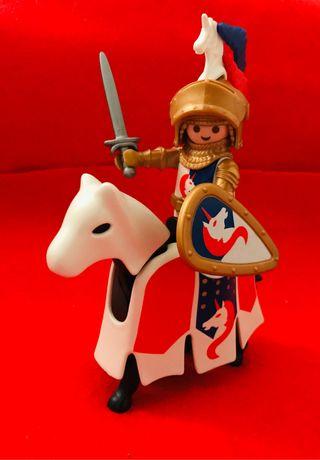 playmobil caballero medieval del unicornio