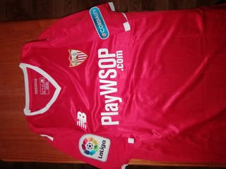 camiseta sarabia Sevilla preparada para juego