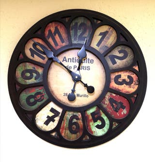 Reloj de Pared 'Antiquité de Paris'.