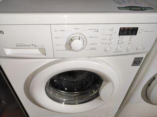 lavadora LG 7KG A++ 1000 RPM