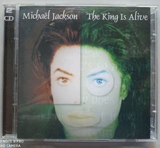 MICHAEL JACKSON - THE KING IS ALIVE - 2CDS