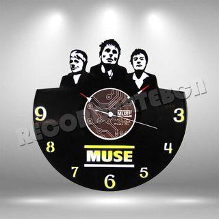 Reloj de Disco LP de Muse