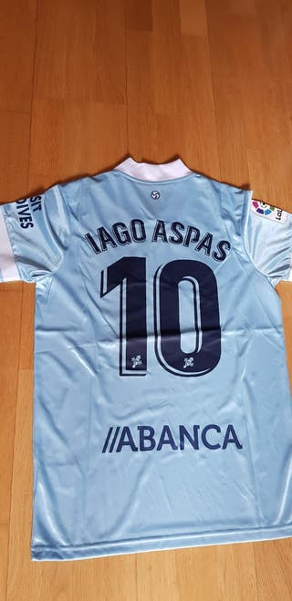 Camiseta Celta Iago Aspas