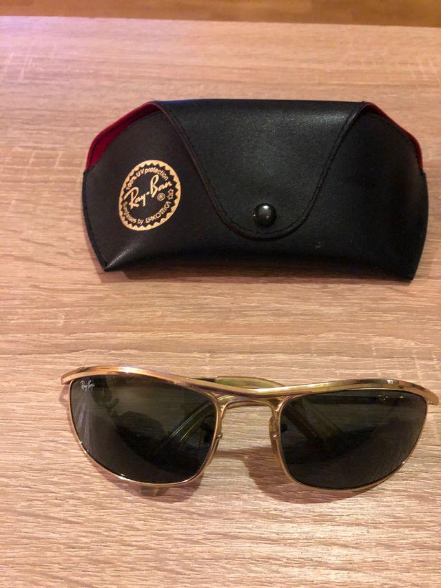 Gafas de sol ray-ban oro