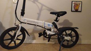Bicicleta urbana electrica plegable
