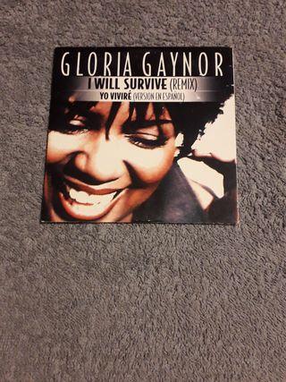 GLORIA GAYNOR CD single I WILL...remix
