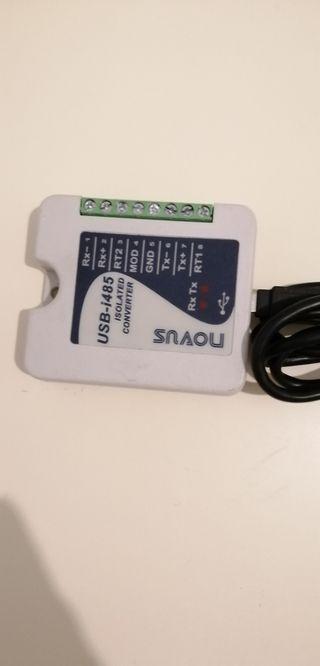 Adaptador USB-RS 485 Modbus/Cable serial USB