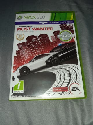 """NEED FOR SPEED: MOST WANTED"" PARA XBOX 360"