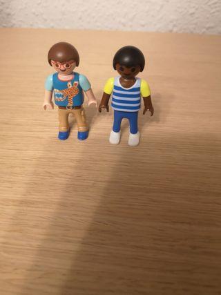niños playmobil