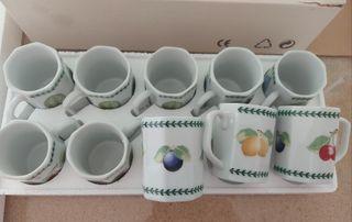 juego de 10 tazas de café