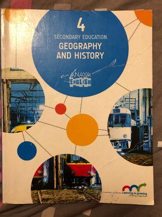 Libro Geografía e Historia 4 ESO INGLÉS.