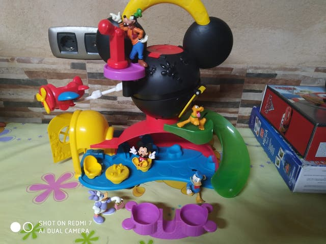 Se vende la casa de Mickey mouse