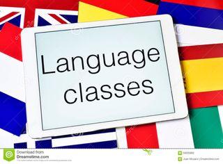 Clases de francés e inglés
