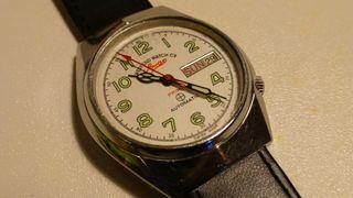 Antiguo reloj militar West end Watch co. Sonwar