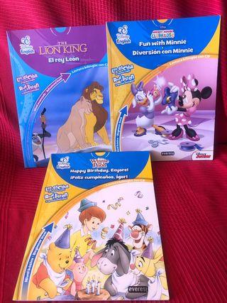 NUEVOS PACK 3 libros Disney English