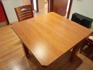 Mesa madera maciza de cerezo