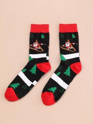 Calcetines navideños hombre