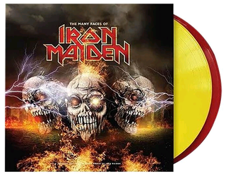 The Many Faces Of Iron Maiden 2 Lp Vinilo Color