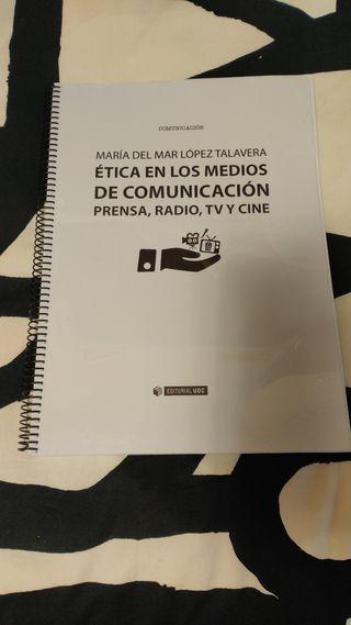 Libro Ética en los medios de comunicación Prensa..