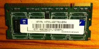 Memoria RAM DDR2 1GB SO-DIMM. Para portátil