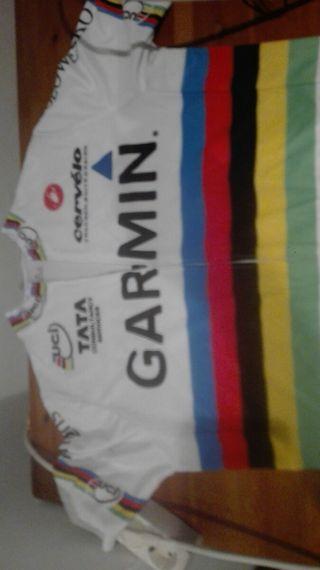 Maillot Campeon del Mundo Garmin
