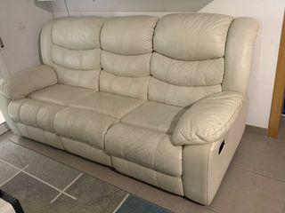Sofa 3 plazas PIEL