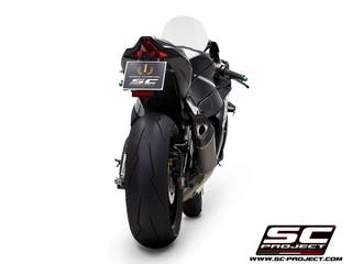 SC PROJECT ZX10R SC1-R CON ENLACE DE CATALIZADOR