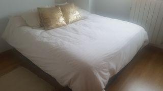 cama 150 cm canapé