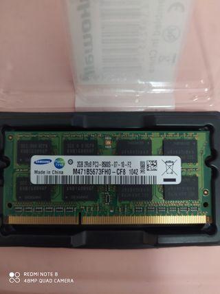 Memoria RAM Samsung